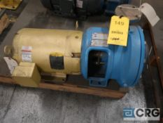 Goulds 3655 1.5 x 2-9 centrifugal pump with 15 HP motor, s/n N737 H622 (Loading Area)