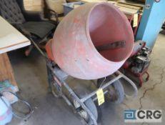 Klishlan 600W electric concrete mixer (mobile) (Shop 1)