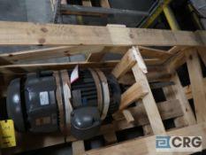U.S. Motor 25 HP vertical motor, 230/460V, 3 Ph., 1190 RPM, Frame 324 LPH2 (Loading Area)