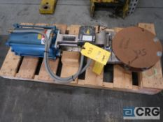 Dezurik 8 in. stainless pneumatic gate valve (Loading Area)