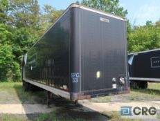 1997 Manac dry van trailer, 45 ft., VIN #2M5921379V7044487, Trailer #33 (Lower Wood Yard)