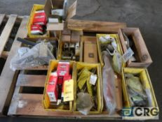 Lot of assorted parts including clamps and gasket fittings (Maintenance Shop)