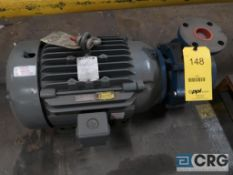 Goulds 2 x 3 centrifugal pump with 15 HP motor (Loading Area)