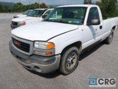 2005 GMC 1500 Sierra pickup truck