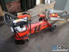 Power Team Enforcer 55 power gear puller, 55 ton cap., portable, electric hydraulic unit (Basement