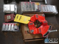 Ridgid 811A cutting blade, and (15) packages of assorted cutting blades (Basement Main Shop)