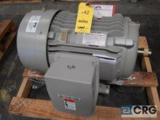 Siemans 50 HP motor, 460V, 3 Ph., 1780 RPM, Frame 326T (Loading Area)