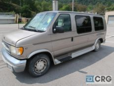2001 Ford E150 van truck, 2WD, V8 Triton engine, AT, 108,707 miles, gas, Arcadian conversion, VIN #