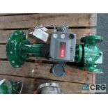 Fisher relief actuator valve, stainless 3 in., rating CL300RF, size 1 1/2, s/n FA00050506 (Finish