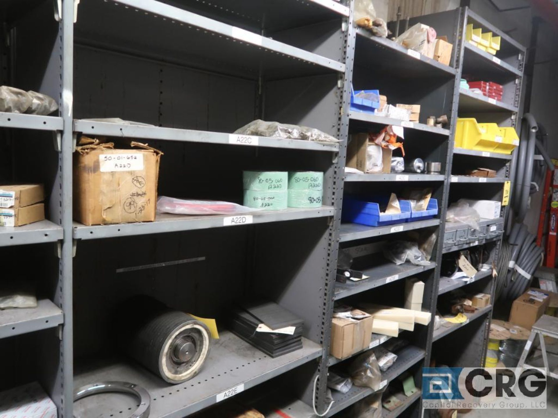 Lot of (14) sections with cable, chain, pulley, and conduit-CONTENT ONLY (Store Basement) - Image 5 of 10