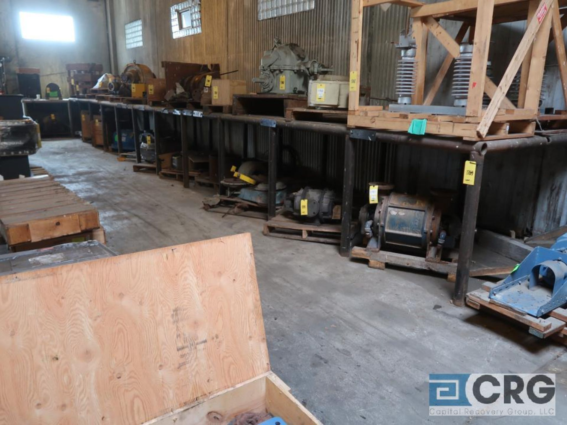 Lot of (6) sections pallet rack including (1) 6 ft. H x 30 in. W, (4) 120 in. cross bars, (4) 12 ft. - Image 5 of 5