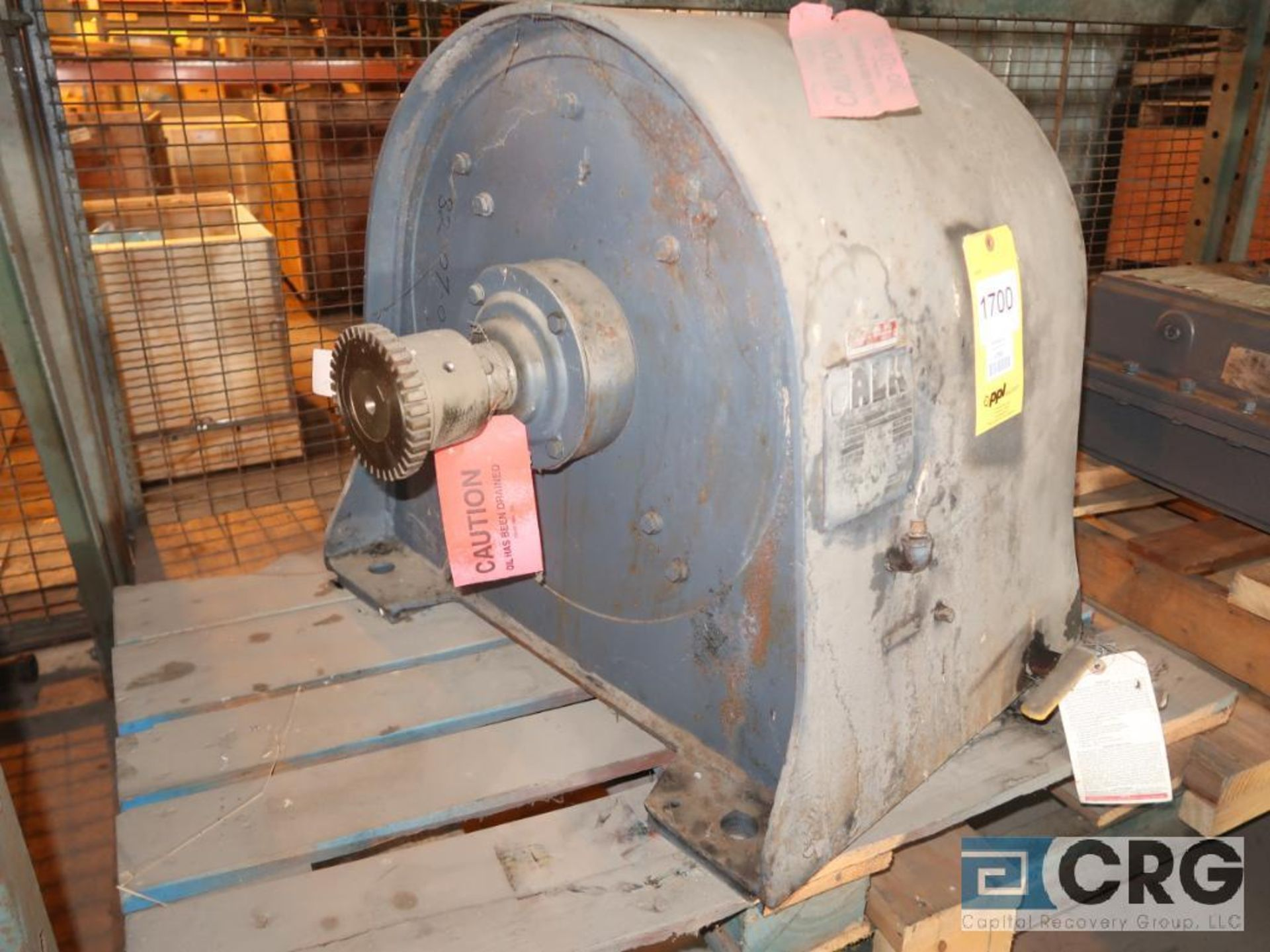 Falk 6C202AS gear drive, ratio-10.31, s/n 120304 (Next Bay Cage Area) - Image 2 of 3