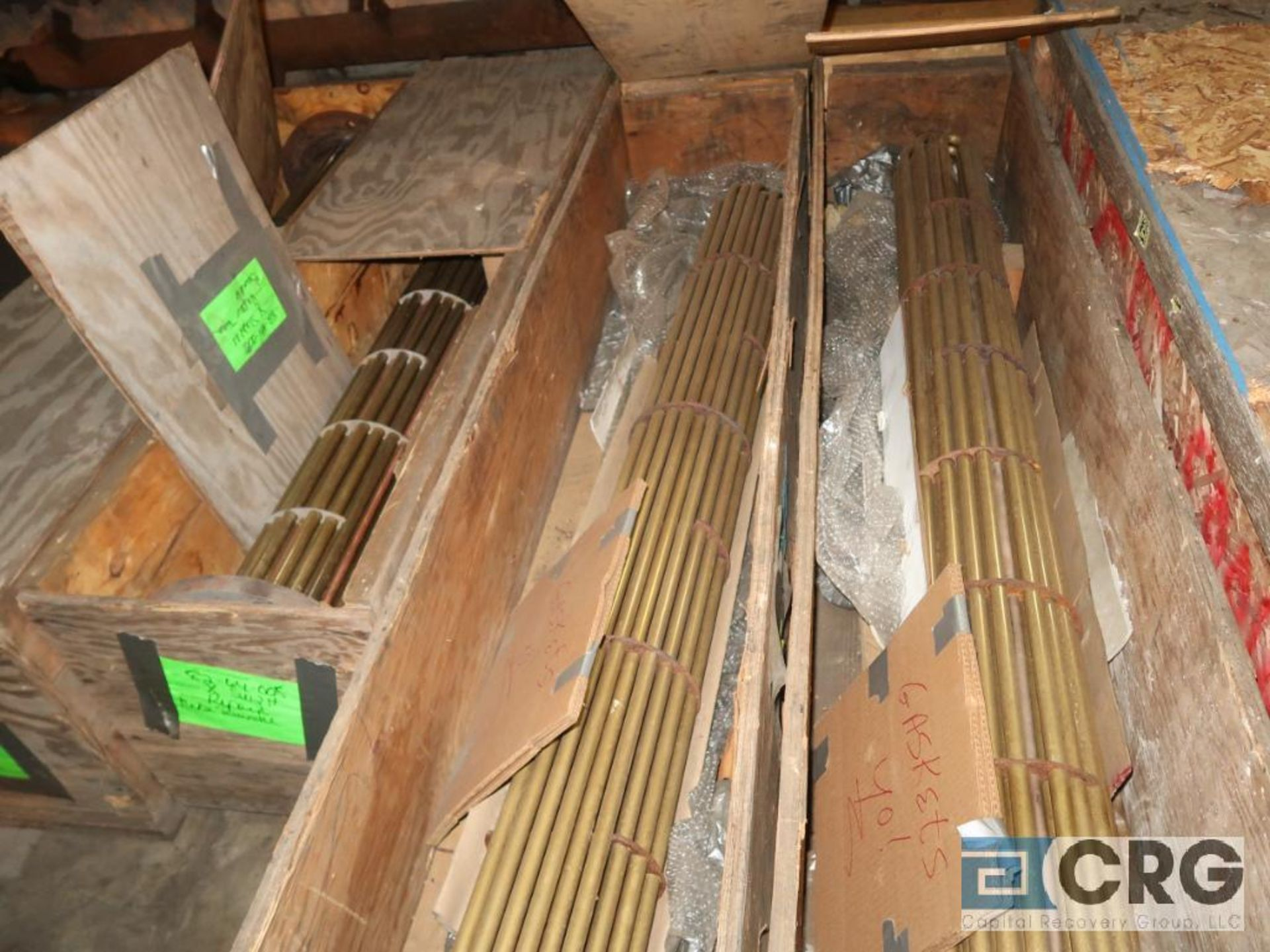 Lot of (5) crates with copper and stainless heat exchanger tube (Next Bay Cage Area) - Image 2 of 2
