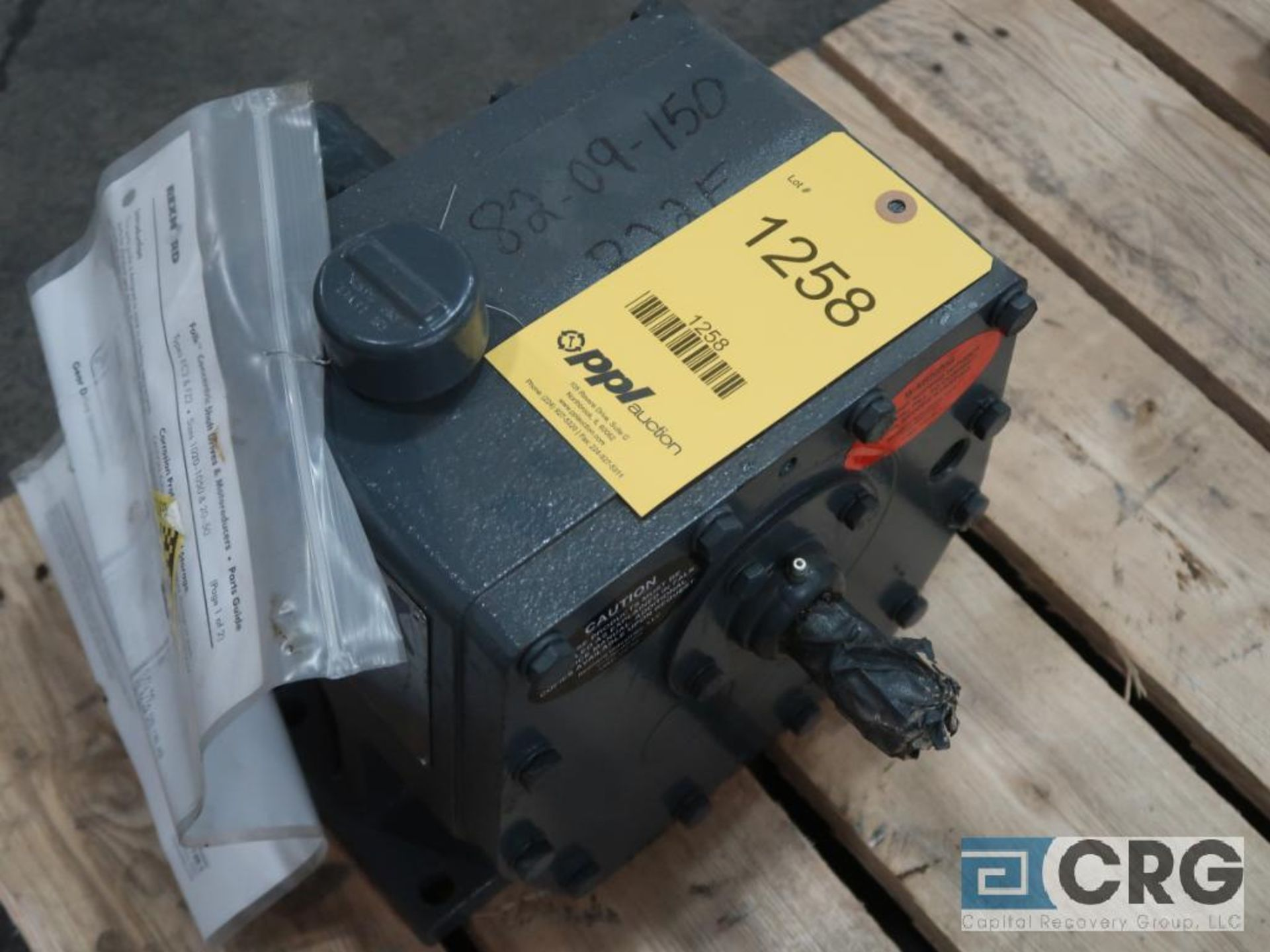 Falk 1020 FC2A gear drive, ratio 1.452, 122.07 RPM, s/n 707010 (Finish Building)