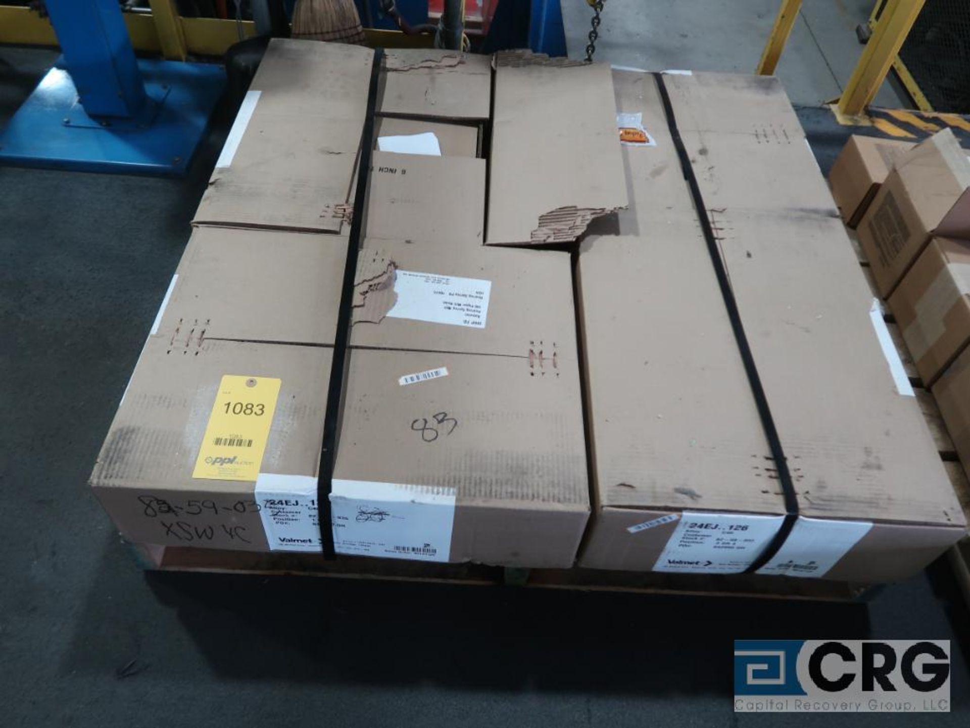 Lot of (4) Velmet 24EJ 126 refiner plates (Finish Building)