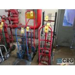 Lot of (6) hand trucks (Stores Area)