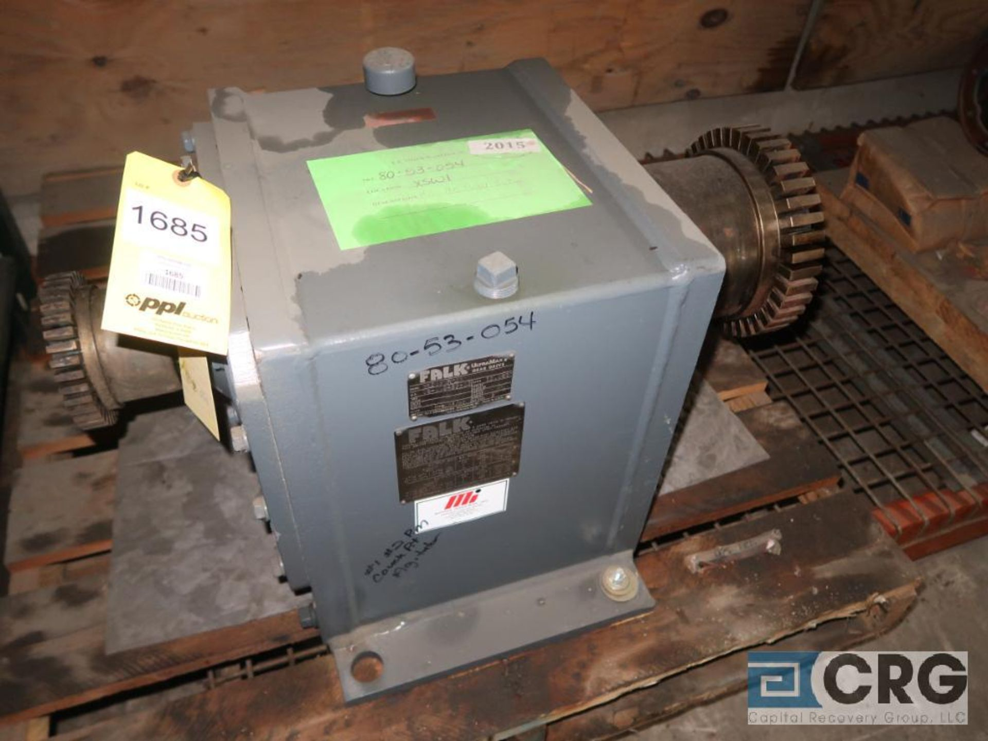 Falk RK 2070 FC2A gear drive, ratio-11.080, s/n 348903 (Next Bay Cage Area)