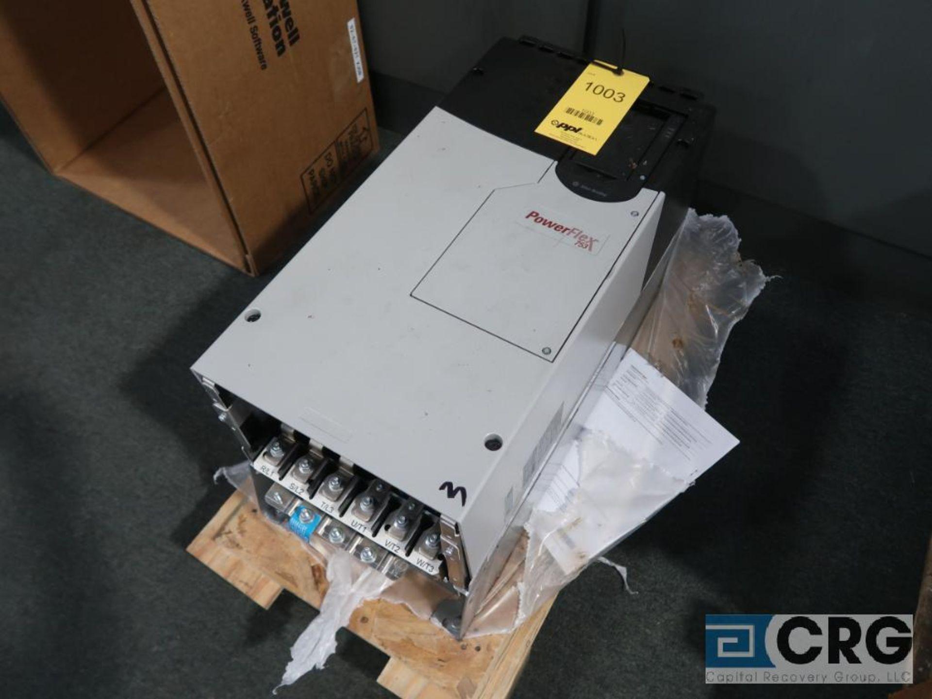 Allen Bradley Power Flex 753 150 HP variable frequency drive, 480 volt, s/n 67283828 (Finish