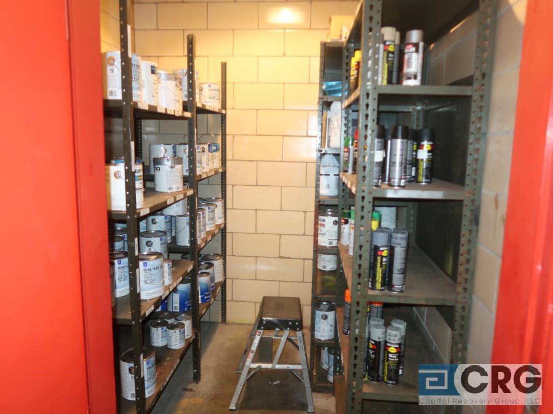 Lot of assorted paints (Store Basement)