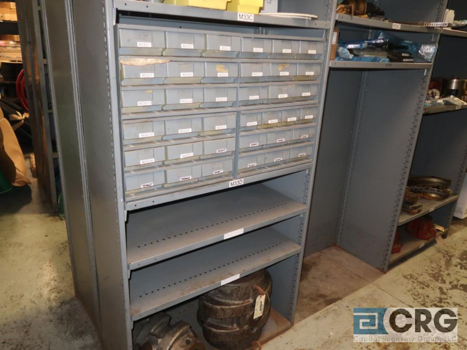 Lot of (20) sections with assorted parts including valve gasket, conveyor, roller, sight glass, - Image 5 of 12