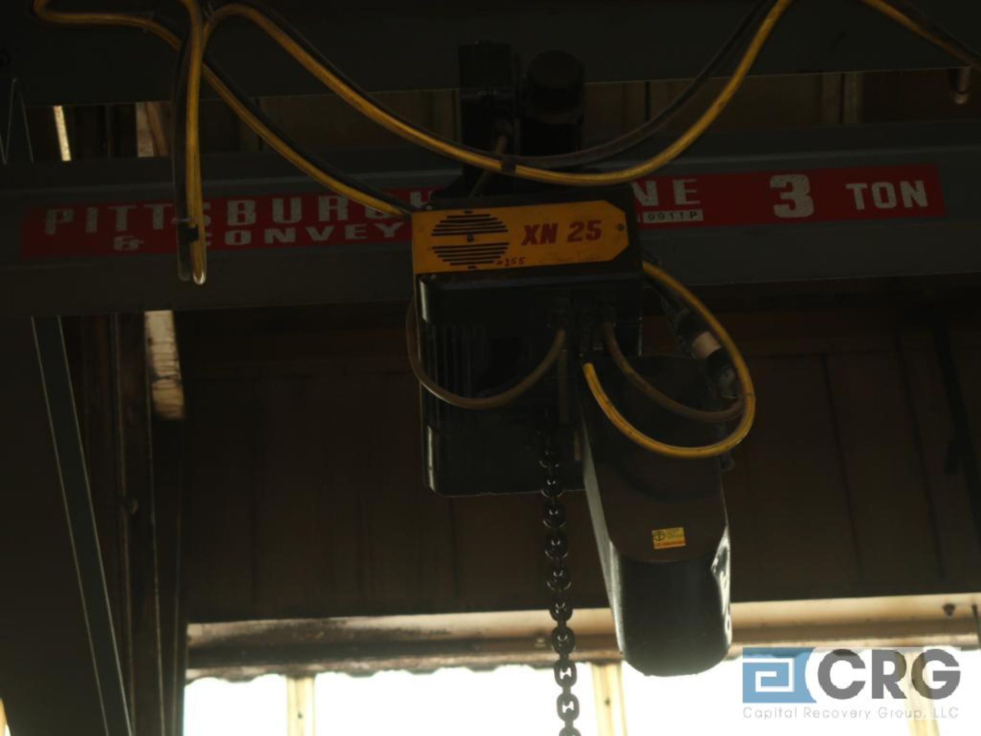 Konecranes XN25 electric hoist, 3 ton cap., hoist only, no beam-LATE DELIVERY (Located on Level