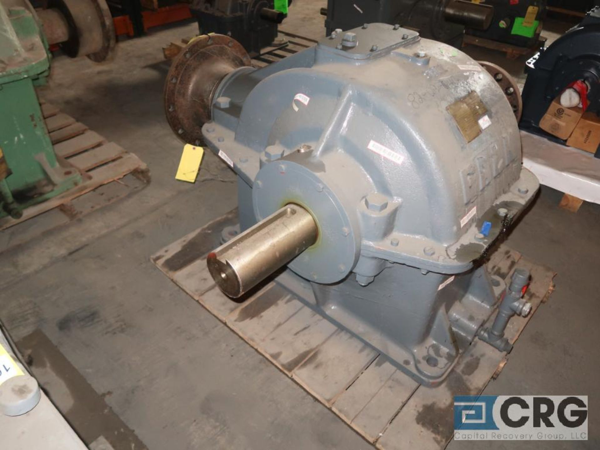 Falk 9GHR gear drive, ratio-5.267, RPM 610.4, s/n 62237039 (Next Bay Cage Area) - Image 2 of 3