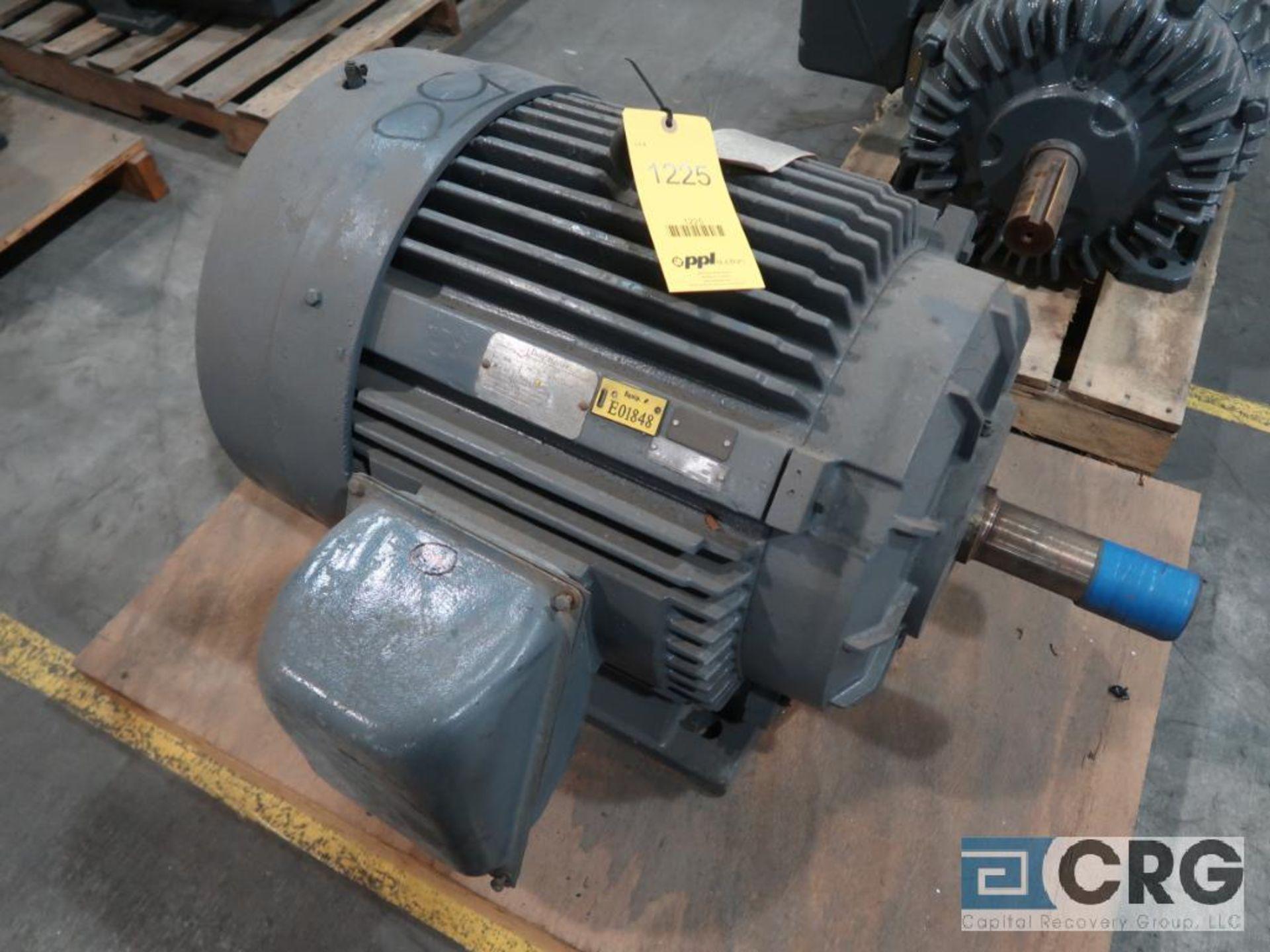 Reliance Duty Master motor, 50 HP, 1,180 RPMs, 440 volt, 3 ph., 405U frame (Finish Building)