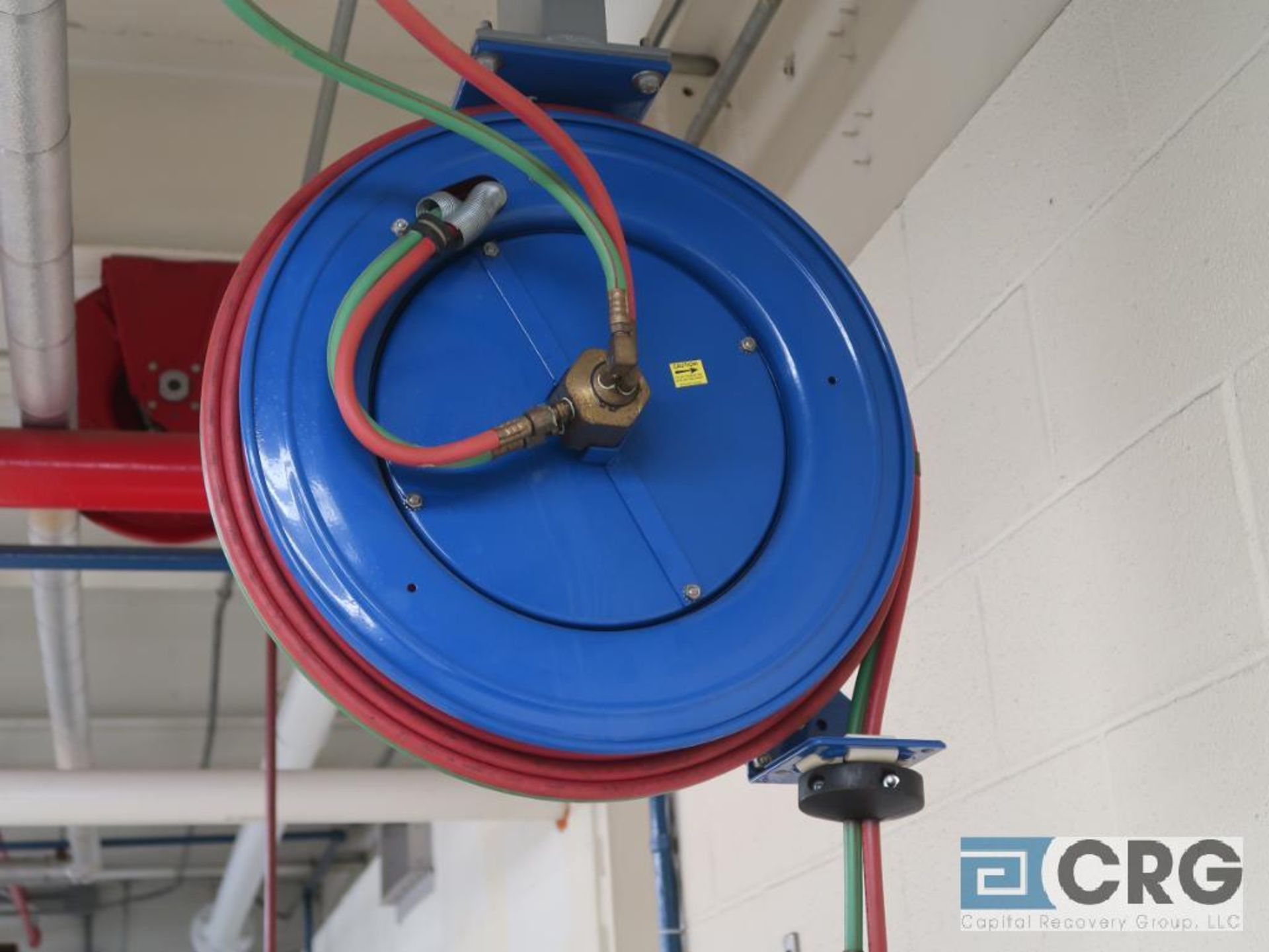 Lot of (3) hose reels including (1) air and (2) oxy/acetylene(Dandy Room) - Image 2 of 3