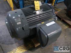 Teco Westinghouse MAX-HT motor, 150 HP, 1,180 RPMs, 460 volt, 3 ph., 447T frame (Finish Building)