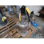 Lot of (2) safety relief valves CL 150, (1) 6 in., and (1) 8 in. (Store Basement)