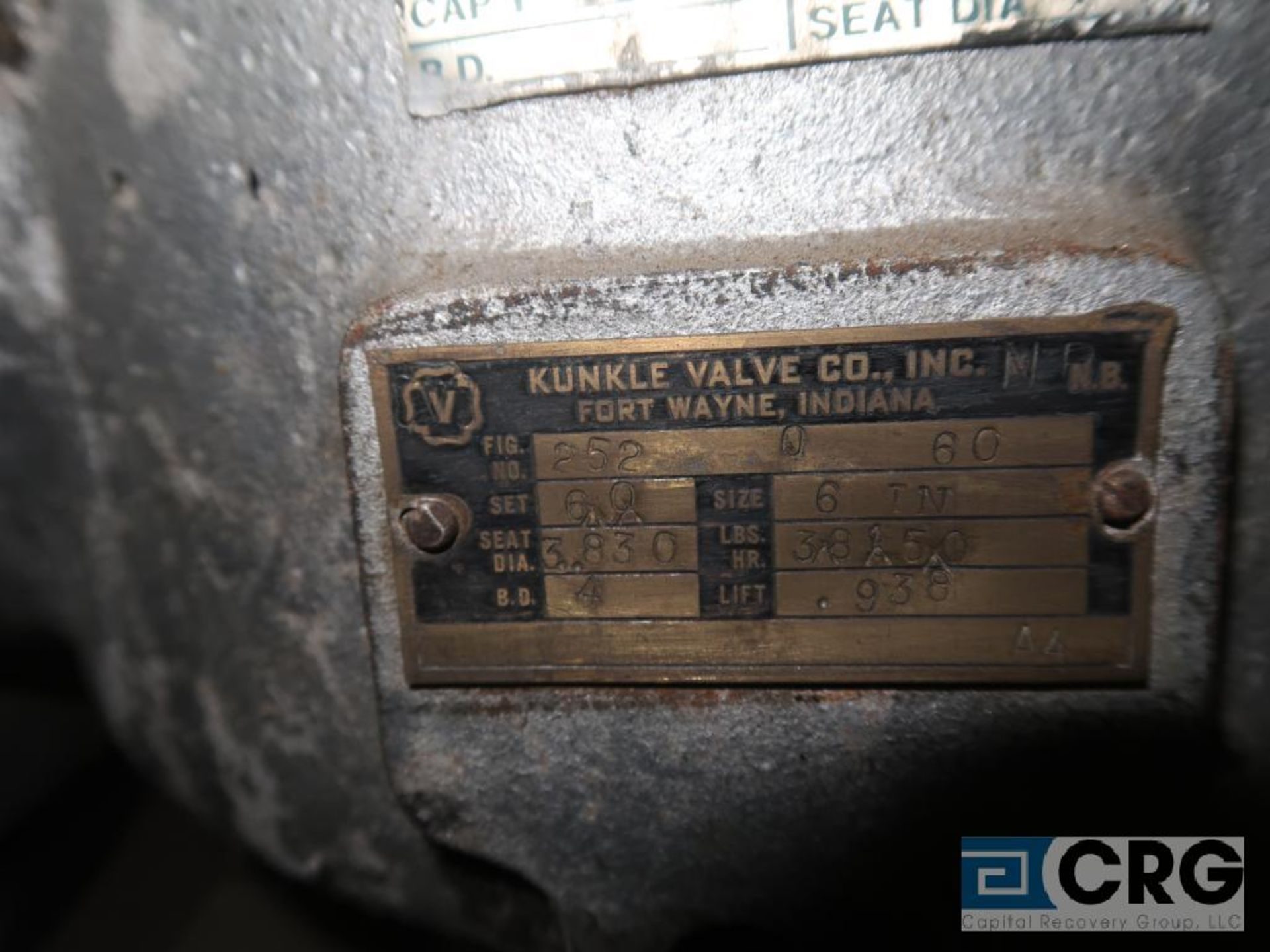Lot of (2) 8 in. safety relief valves CL 150 (Store Basement) - Image 4 of 4