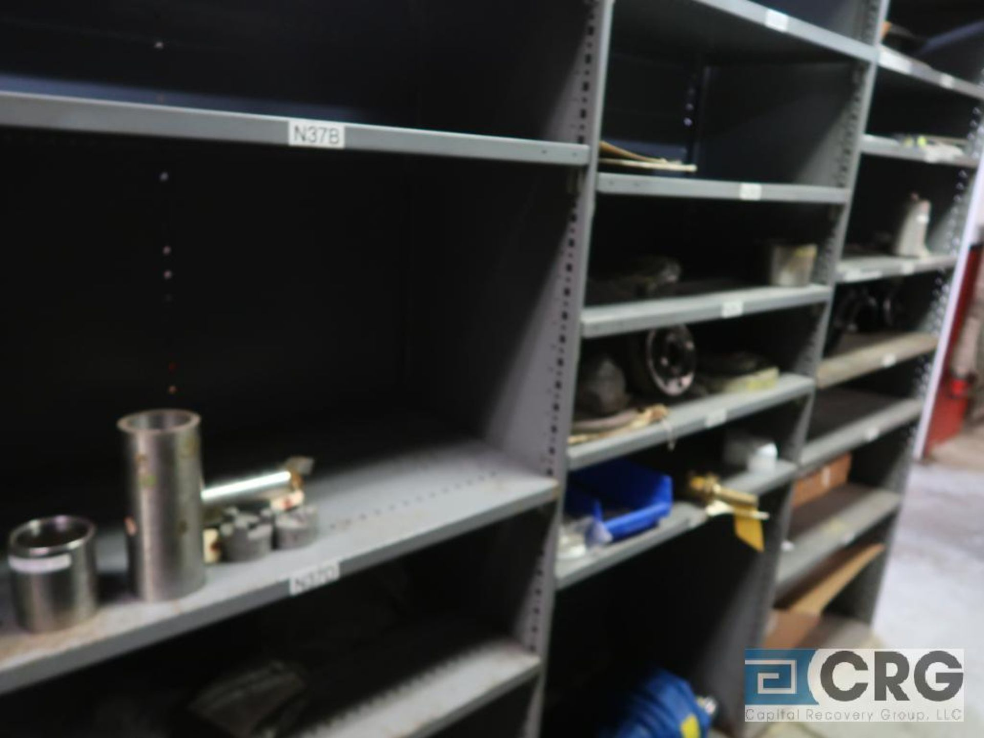Lot of (16) sections with assorted pumpparts including gaskets, rupture discs, valves, and drives- - Image 7 of 8