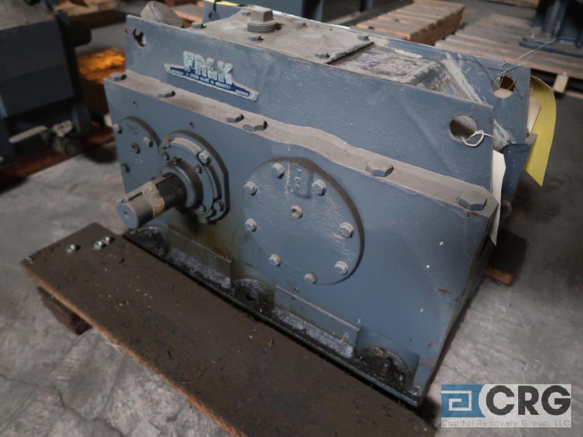 Falk 2050Y1L gear box, ratio- 6.928, input RPM 1,750, output RPM 252.6, service rate HP. 75 (Next - Image 2 of 3
