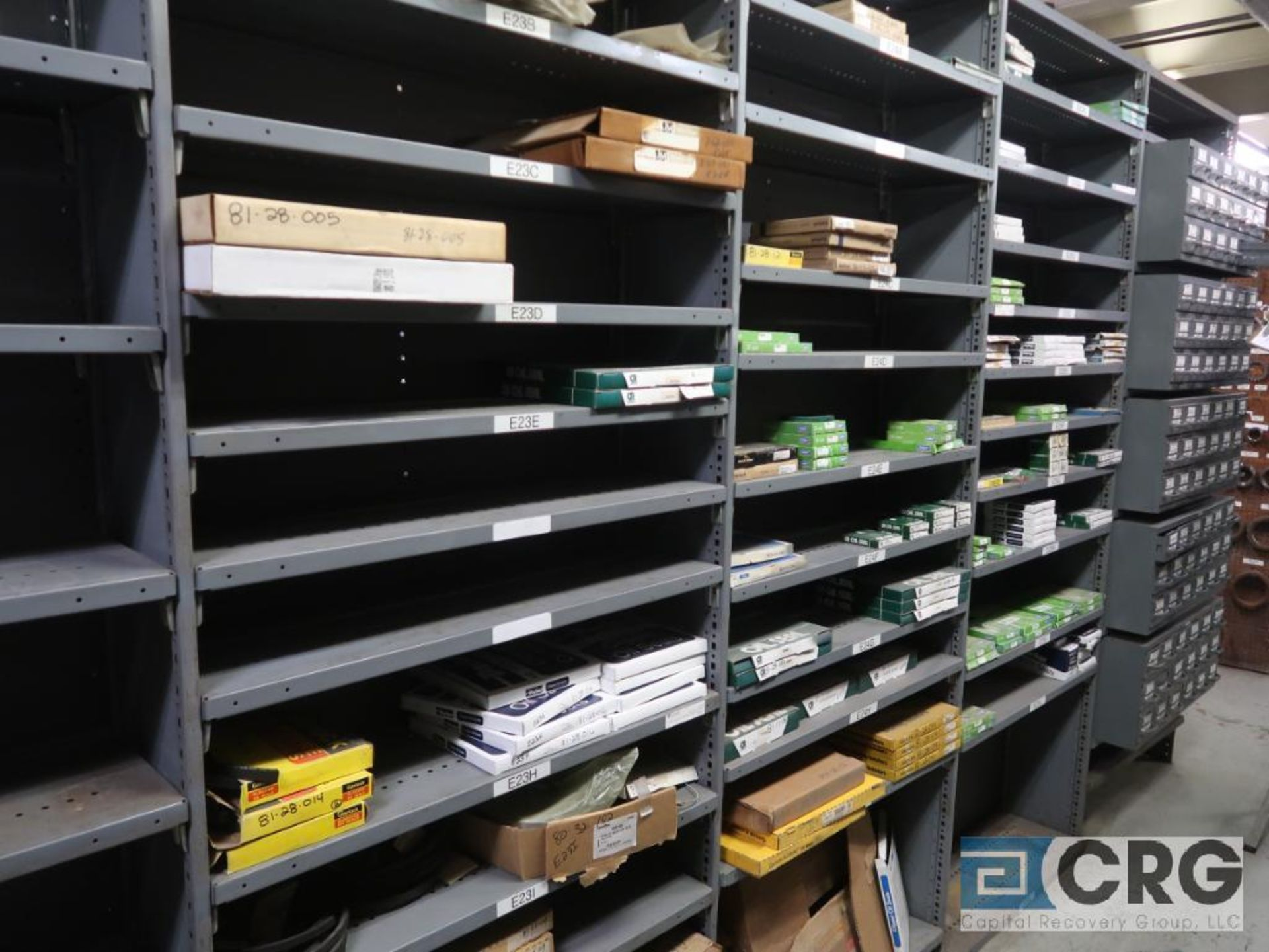 Lot of assorted bearings on (18) sections of metal shelving (located in Basement Store) - Image 16 of 17