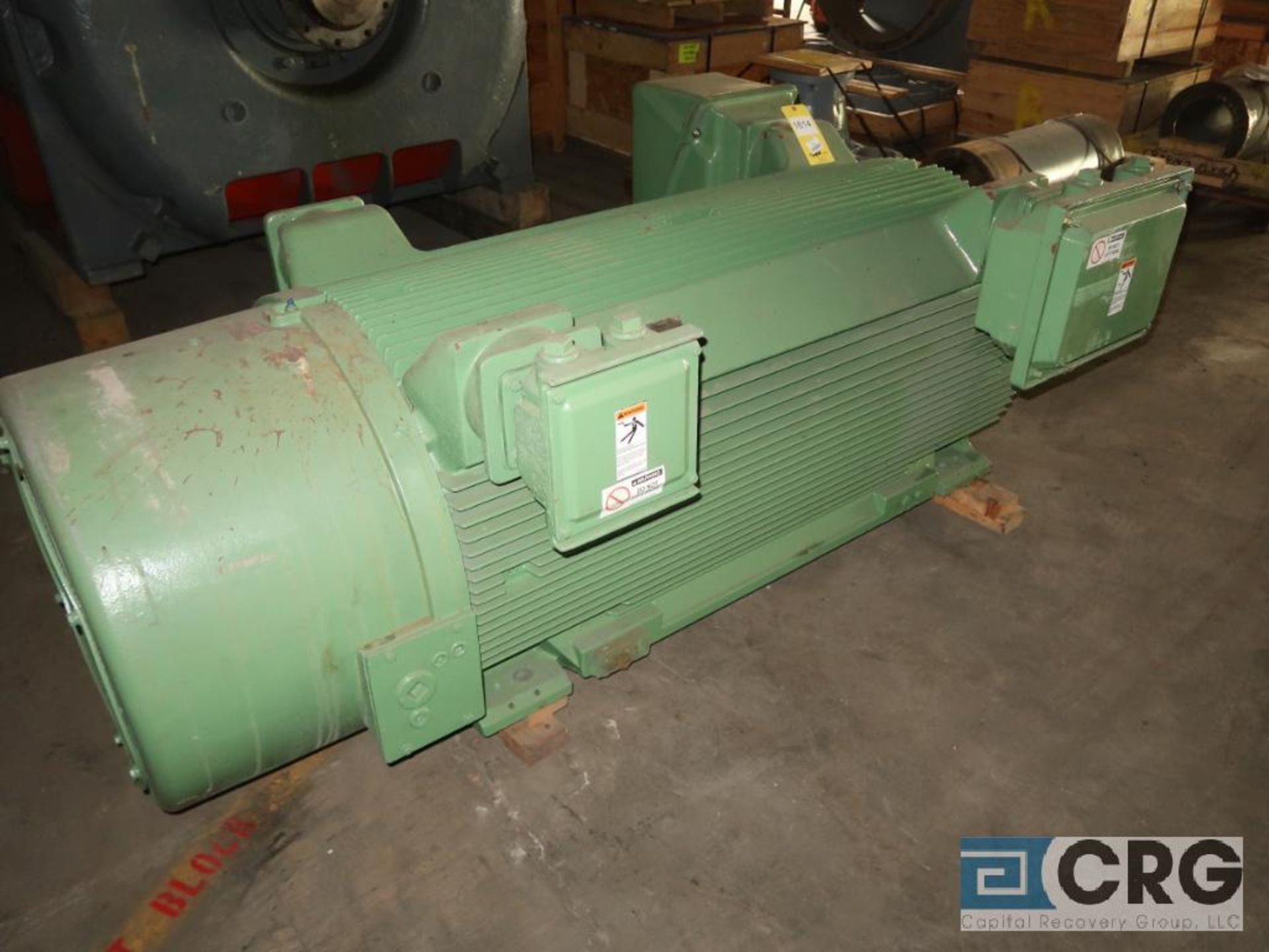 Siemens 700 HP induction motor, 2,300 volt, 3 ph., 3,572 RPM, frame 5013 (Off Site Warehouse) - Image 2 of 3