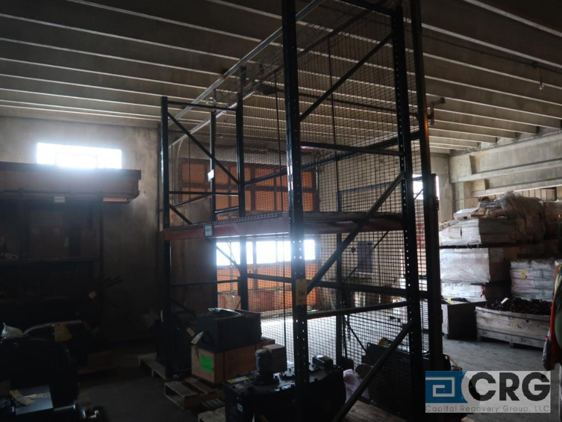 Lot of (24) sections pallet rack including (5) 8 ft. x 48 in. W, (24) 8 ft. cross bars, (4) 8 ft. - Image 7 of 7