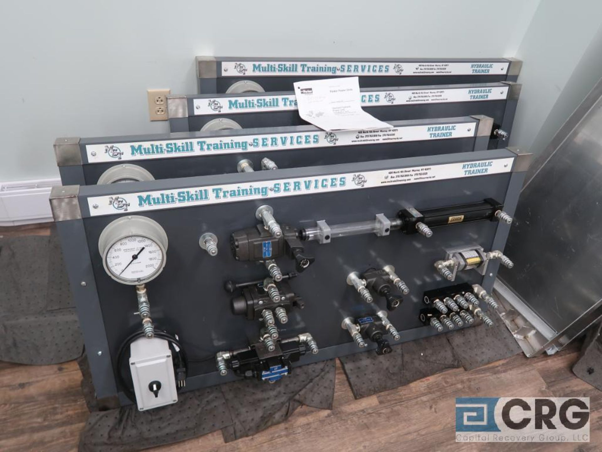 Lot of (16) assorted training consoles including pneumatic, hydraulic, and electrical (includes ( - Image 2 of 4