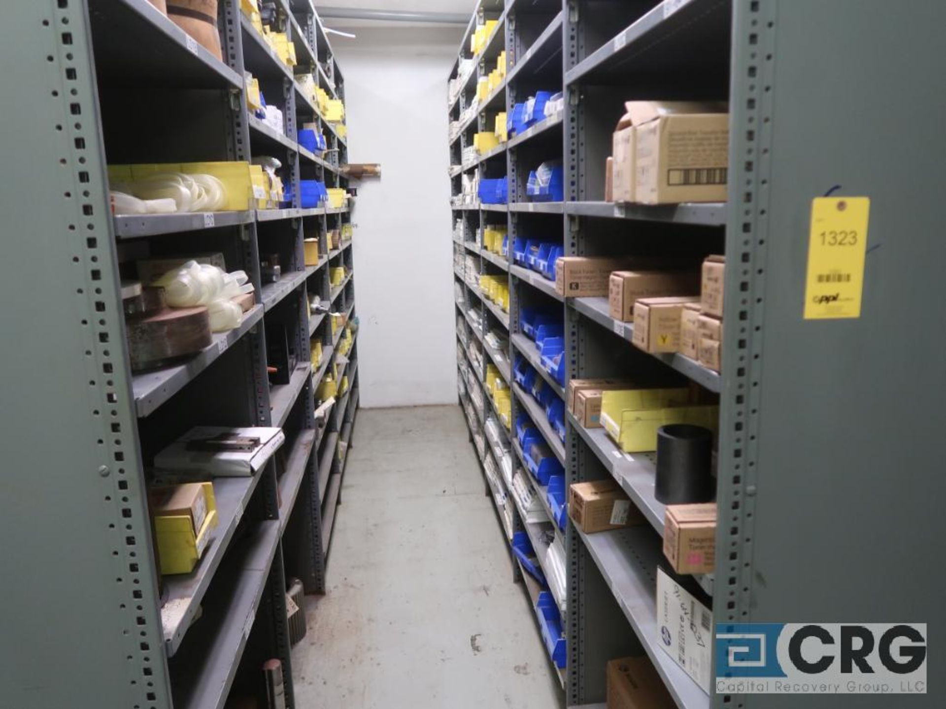 Lot of (135) sections metal shelving (Front of Stores Area) - Image 3 of 9
