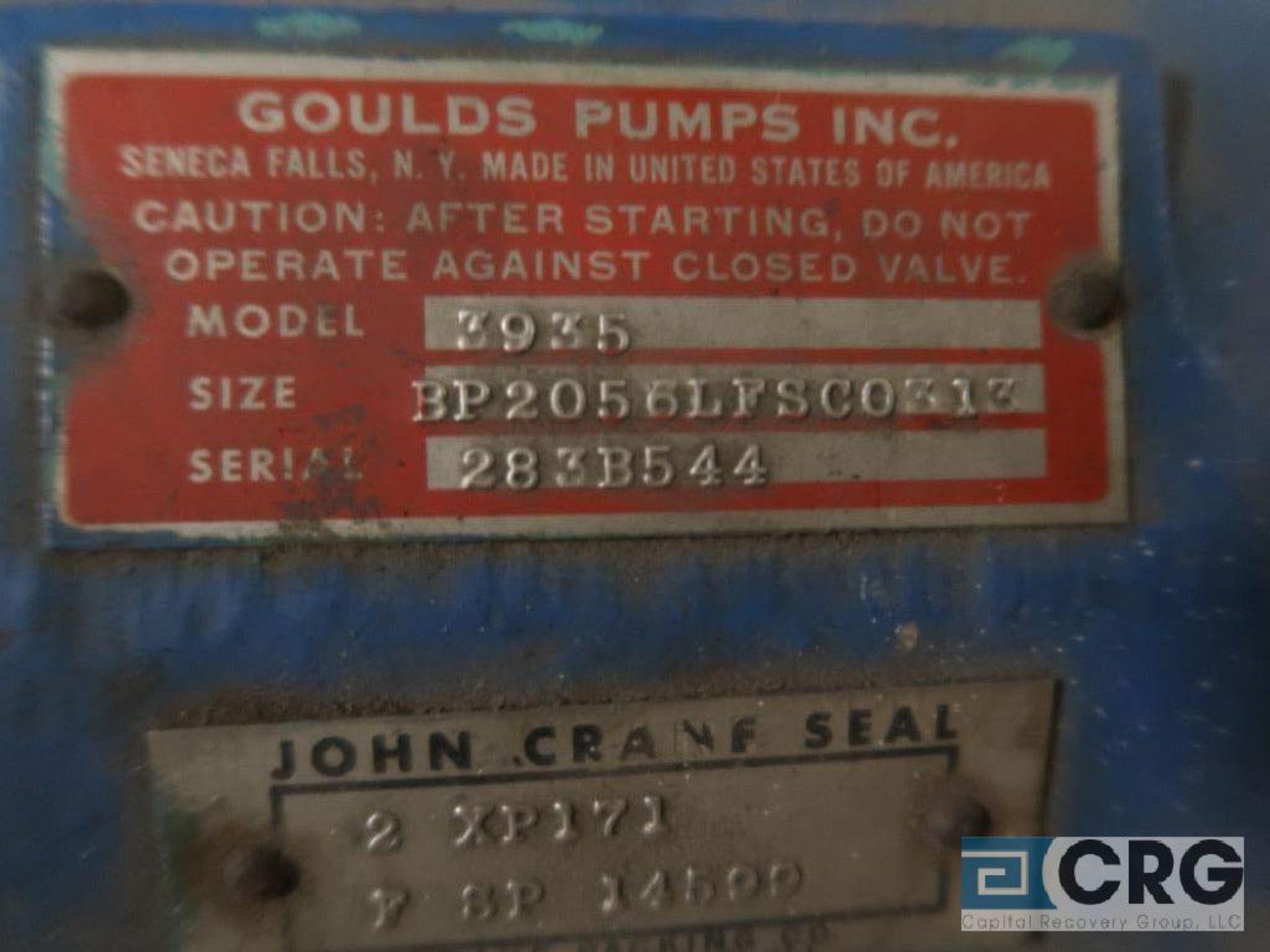 Goulds 3935 power unit, size 3P2056LFSCO313 (Basement Stores) - Image 2 of 2