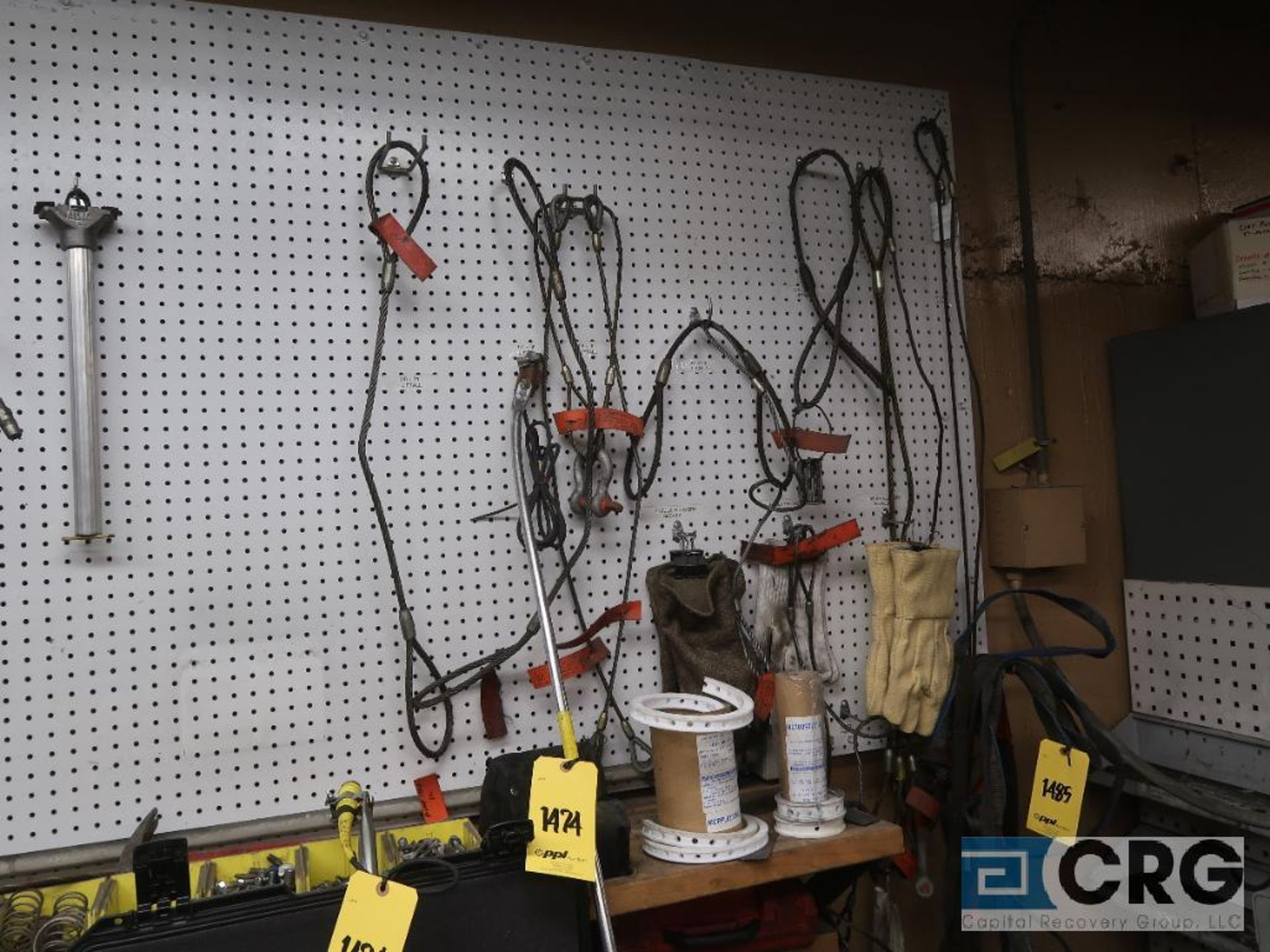 Lot of cable and nylon slings (Basement Stores) - Image 3 of 3