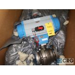 Jamesbury stainless 4 in. actuator valve (Finish Building)