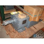 Falk 2050 FZ2 gear drive, ratio 20.52, input RPM 1,750/85.20, service rate HP. 10, s/n 4278710 (Next