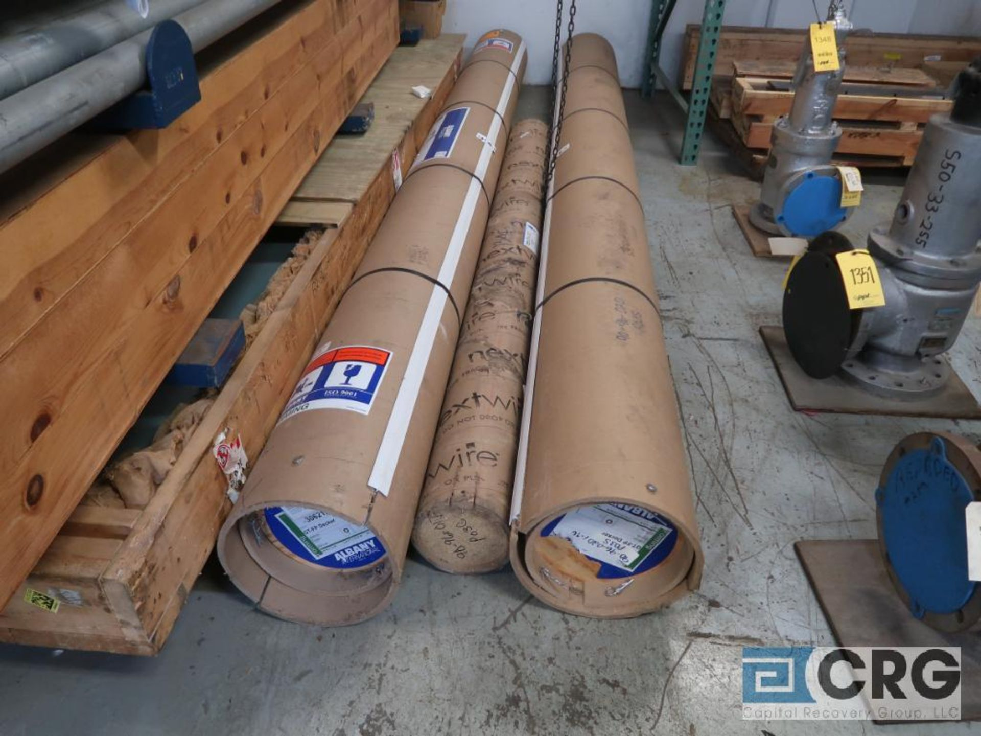 Lot of (8) rolls of stainless screen (Store Basement) - Image 2 of 2