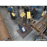 Lot of (2) 8 in. safety relief valves CL 150 (Store Basement)