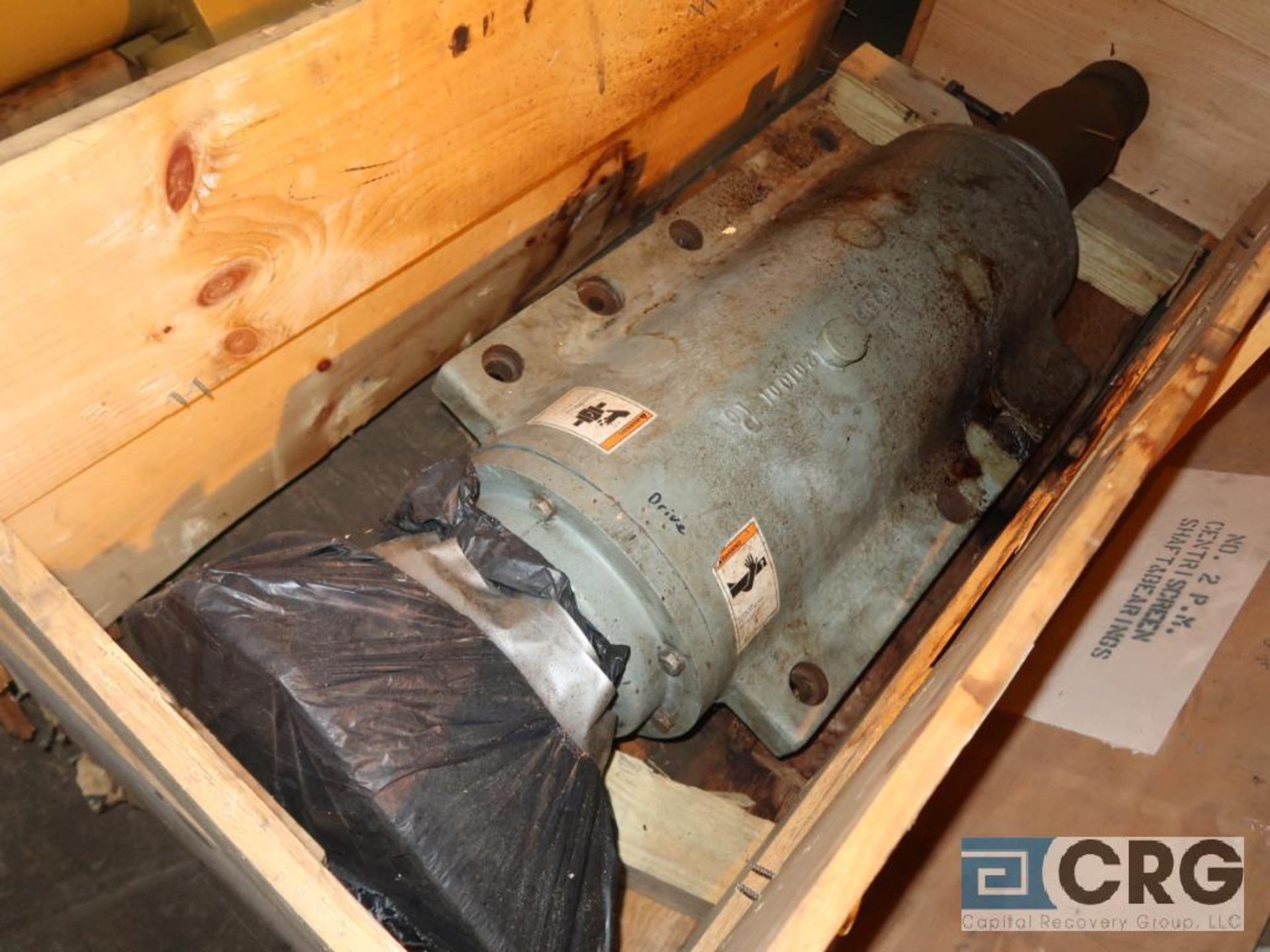 Lot of (2) Bird centriscreen shafts (Next Bay Cage Area)