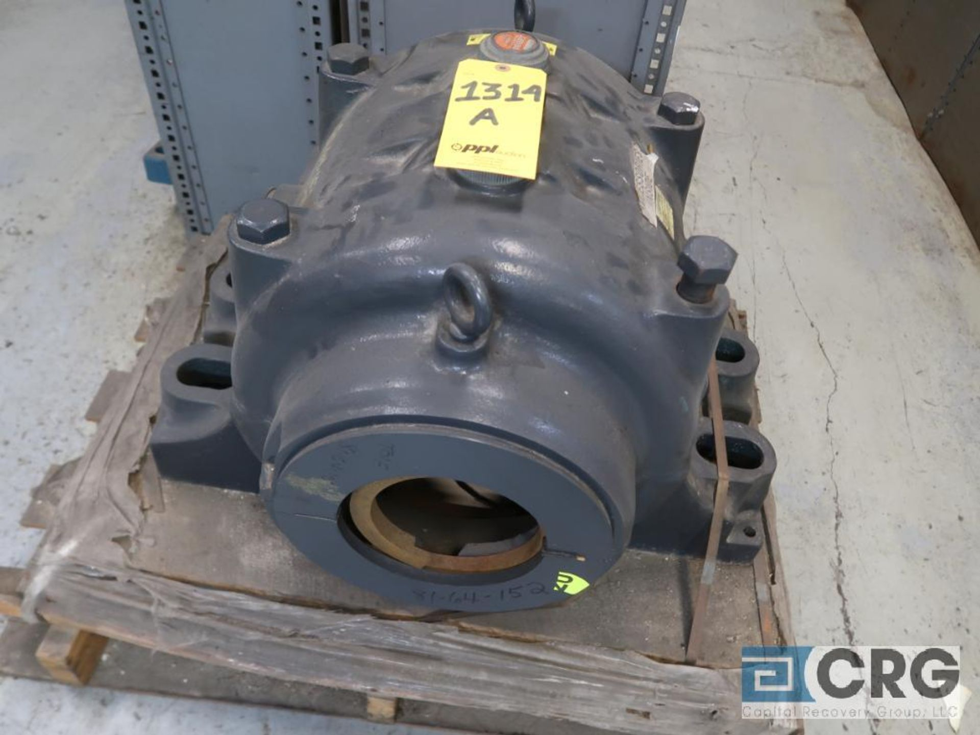 Lot of assorted large bearings and pillow blocks on (6) pallets (Basement Store) - Image 3 of 8