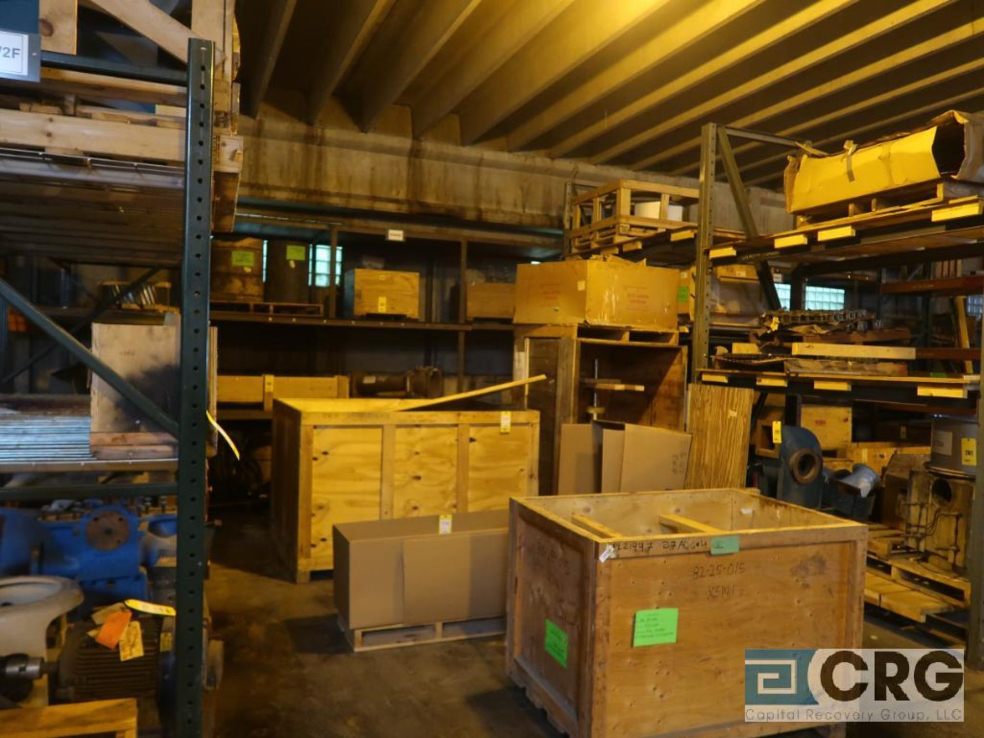 Lot of (24) sections pallet rack including (5) 8 ft. x 48 in. W, (24) 8 ft. cross bars, (4) 8 ft. - Image 2 of 7
