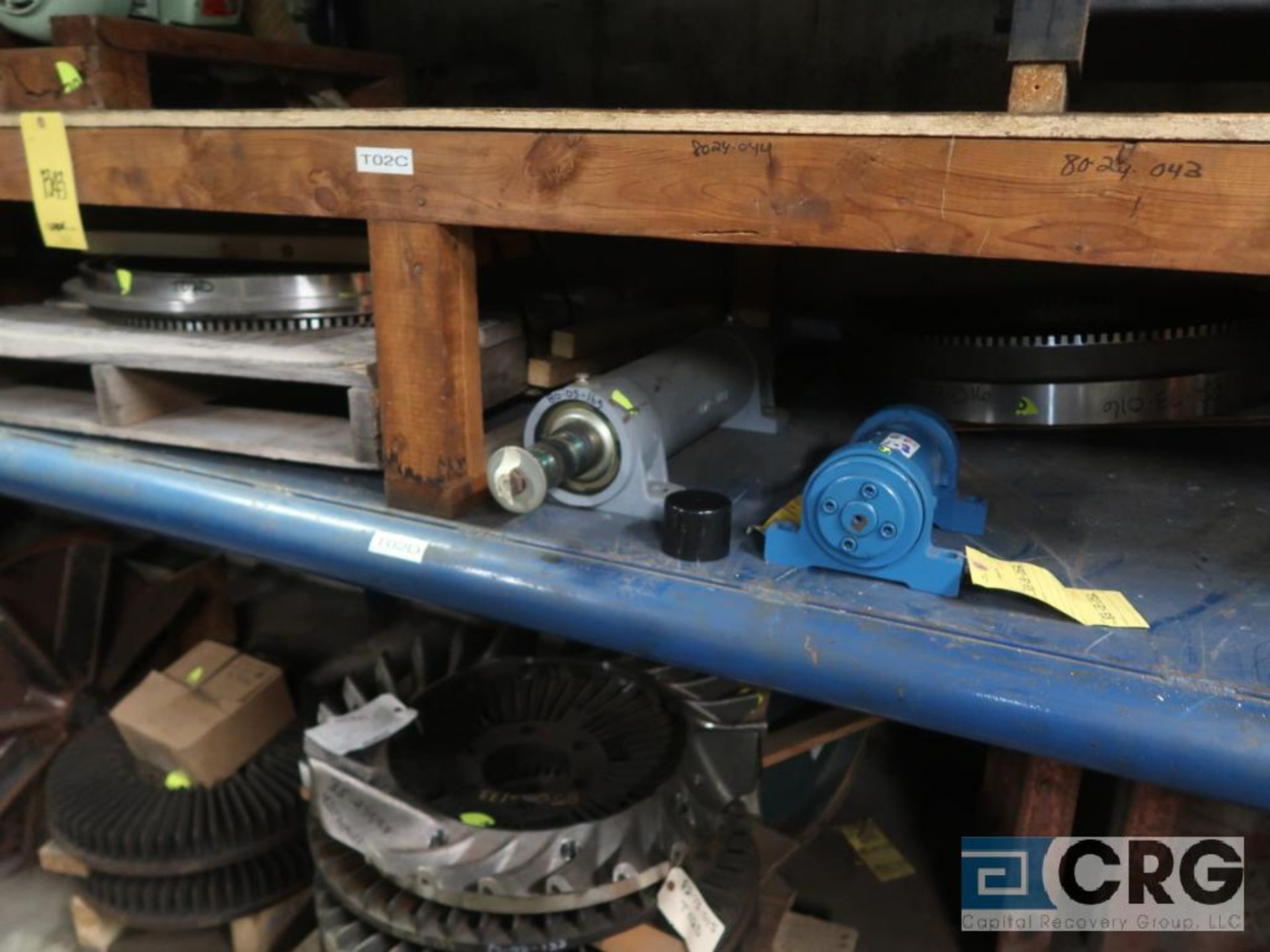 Lot of (4) sections assorted shafts, motor rotors, and ringe gauges (Store Basement) - Image 3 of 7