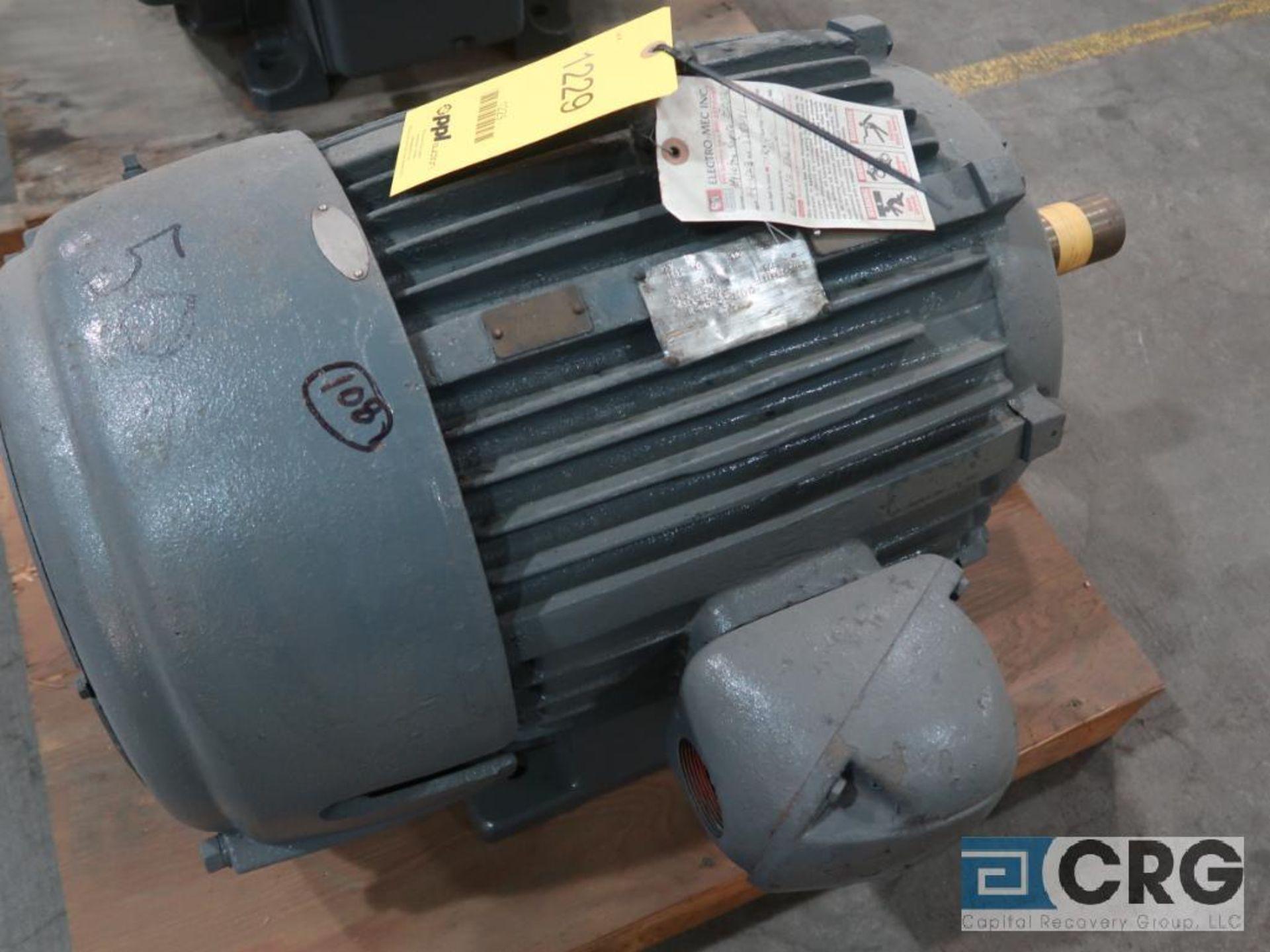 U.S. Electrical Motors electric motor, 50 HP, 1,765 RPMs, 460 volt, 3 ph., 326T frame (Finish
