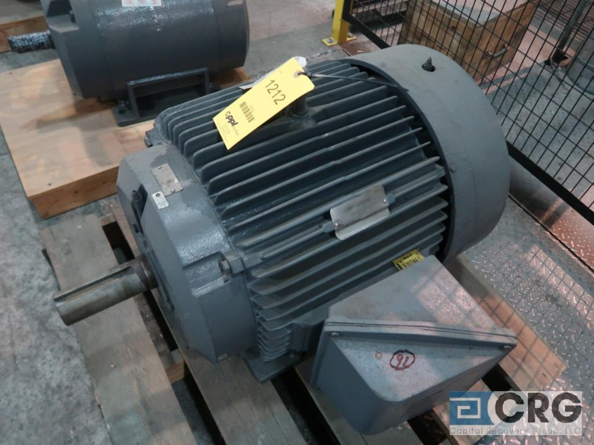 Reliance electric motor, 60 HP, 1,775 RPMs, 460 volt, 3 ph., 364T frame (Finish Building)